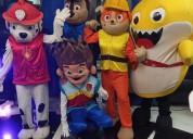 Gran show para fiesta infantil de paw patroll
