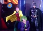 Gran show para fiesta infantil de batman