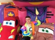 Gran show para fiesta infantil de cars