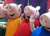 Gran show para fiesta infantil de peppa