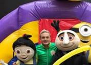 Gran show para fiesta infantil de minions