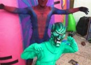 Gran show infantil de spiderman en vivo