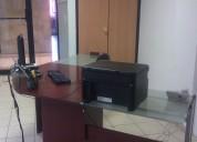 Oficina amueblada con servicios incluidos con mva