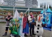 Magnifico show para fiesta infantil de frozen