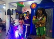 Show para fiesta infantil de moana