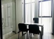 Renta espacios amueblados para oficina en colima