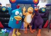 Espectacular show de la gallina pintadita