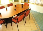 Renta de oficinas amuebladas disponibles