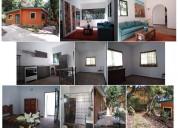 Rento bonita casa nueva de estilo rustico y jardin