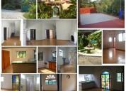 Rento casa nueva de 4 recamaras, estudio y jardin