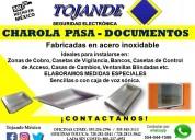 Charola pasa documentos tojande