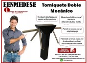 Torniquete doble mecÁnico eenmedese