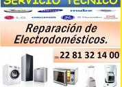 Reparación y servicio técnico a electrodomésticos