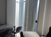 Confortable y amueblada oficina en renta
