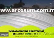 Techos curvos arcosum