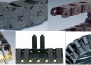 Cadenas portacables y cables para movimiento