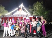 Circo renta de carpa para fiestas