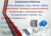 Electricidad industrial - instalaciones