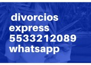 Divorcios express pachuca