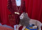 Artistas de circo decorativos para eventos
