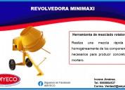 Revolvedora mini maxi