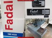 Centro de maquinado fadal 4020 aÑo 2000 en venta
