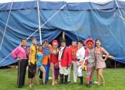 Funciones de circo para teatros escuelas empresas