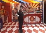 Show de circo profesional para escuelas teatros