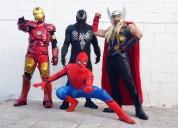 Impresionante show de avengers,show de superheroes