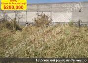 150mts de terreno ejidos de acapatzingo cuernavaca
