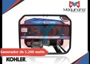 Renta o venta de generador kholer