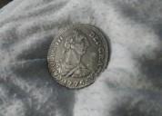Moneda antigua dei·gratia·1776·carolus·|||·
