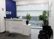Oficina con servicios incluidos en ags