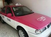 Vendo taxi nissan tsuru 2014 cdmx