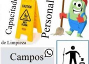 Capacito e informo a tu personal de limpieza