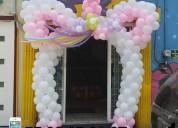 Decoracion con globos para fiestas infantiles, bautizos mesa de dulces profesionales garantizdas