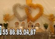 Hermosas decoraciones con globos al alcance de tu presupuesto