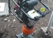 Compactadora a gasolina en renta