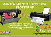 Reparación de plotter hp en monterrey