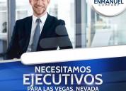 CompaÑÍa en ee.uu busca ejecutivos de ventas