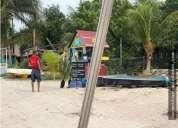 Venta terreno holbox en la playa 846 m2