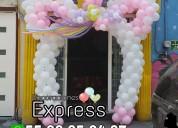 Decoraciones profesionales con globos