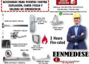 Accesorios para puertas contra explosiÓn eenmedese