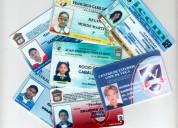 Credenciales de pvc escolares o empresariales urge