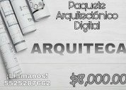 Paquete arquitectònico digital