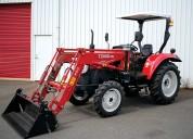tractor agrÍcola 4x4, 55 hp, marca yto