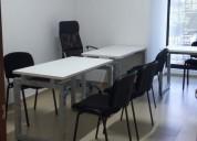Amplia y bella oficina en renta para 3 personas
