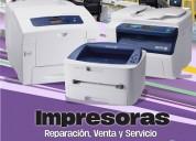 Mantenimiento y reparación de impresoras xerox.