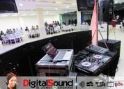 Servicio de sonido y dj para todo evento