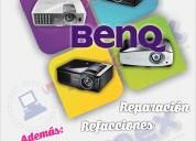 Mantenimiento y reparacion a proyectores benq.